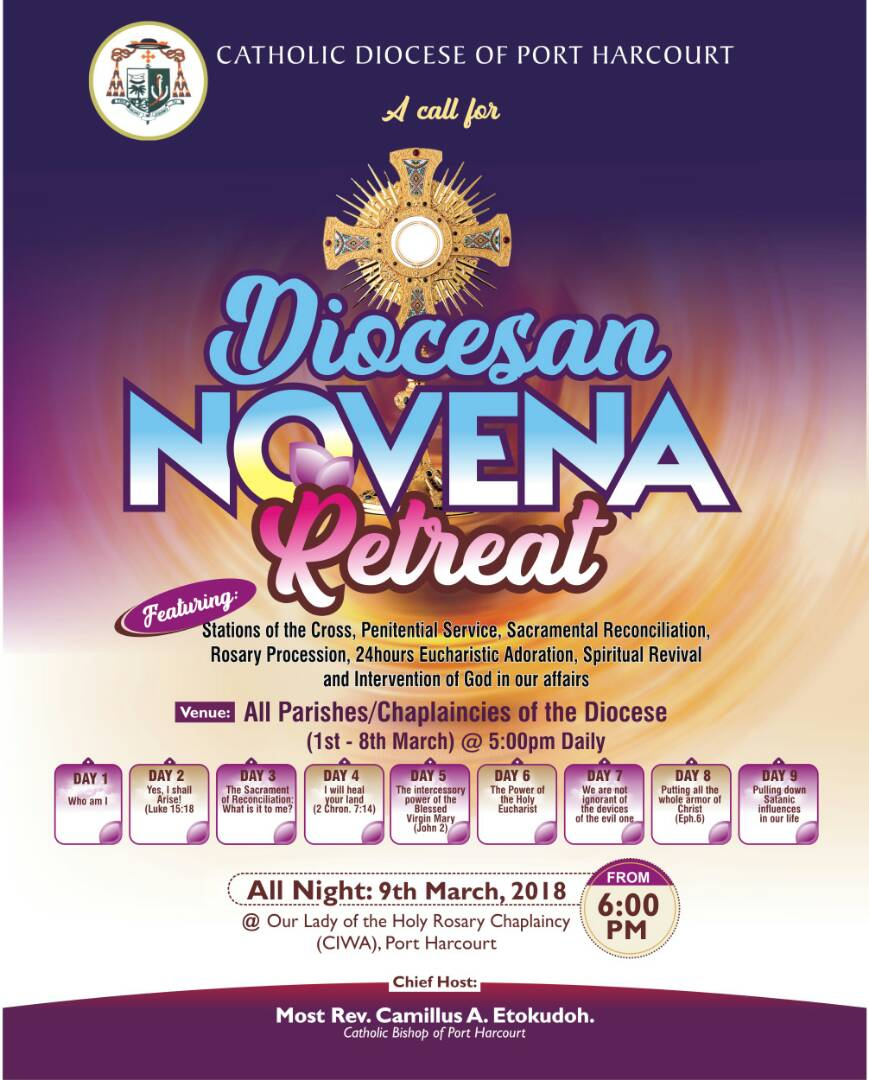 Diocesan Novena retreat
