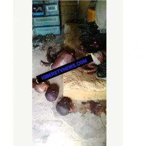 Rivers State man beheaded six people, kill himself.