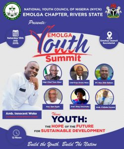 Event : EMOLGA Youth Summit.